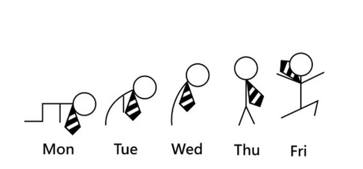 semana laboral