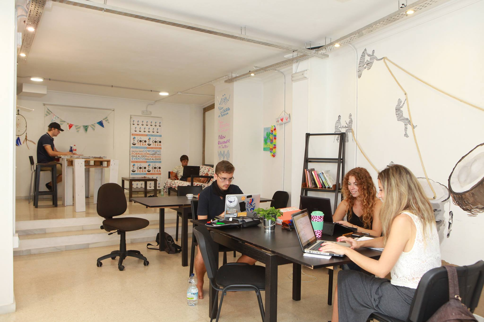 Hoteles con coworking en España